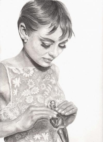 Audrey Hepburn by Rhodesia